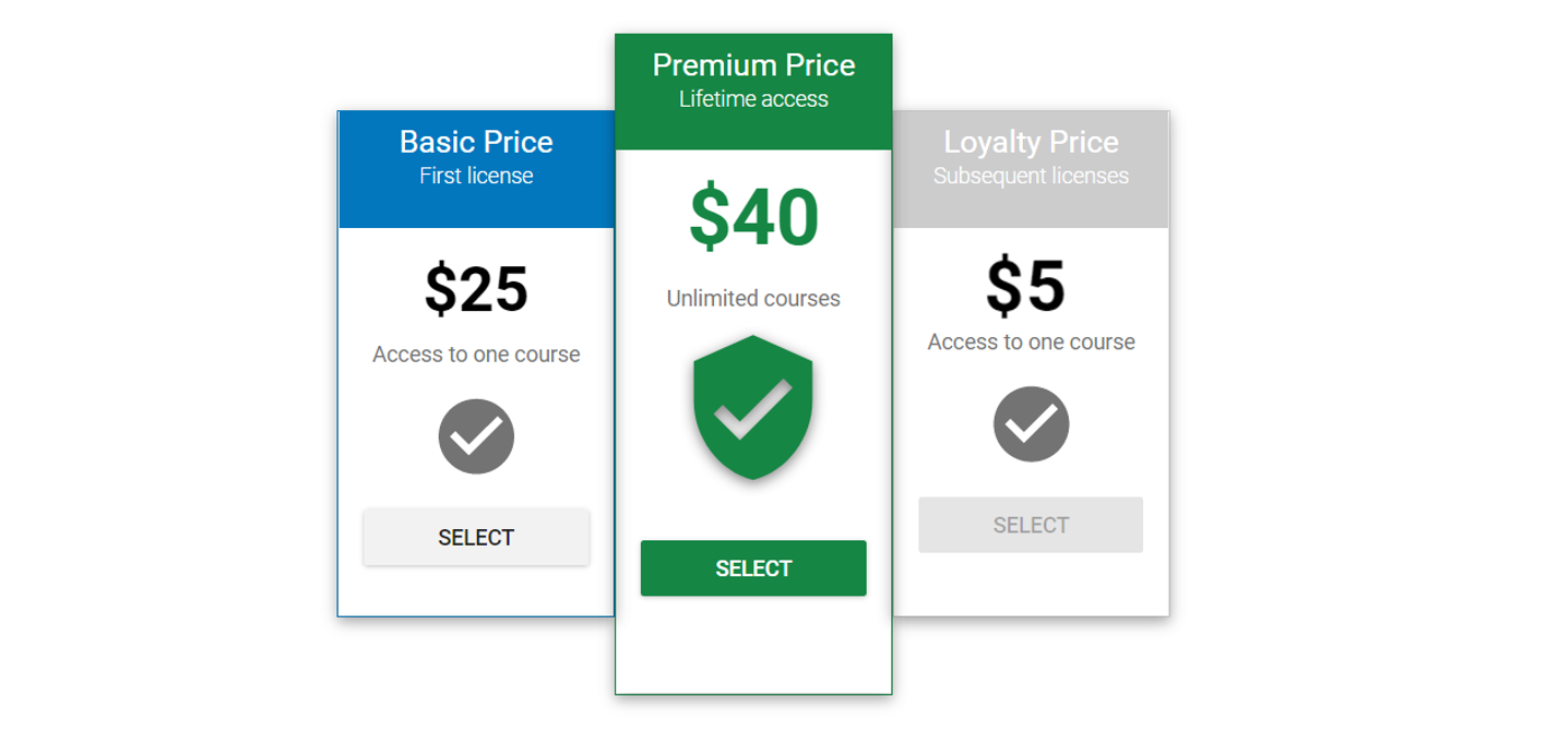Student - Legacy Pricing Information – CourseKey Help Center