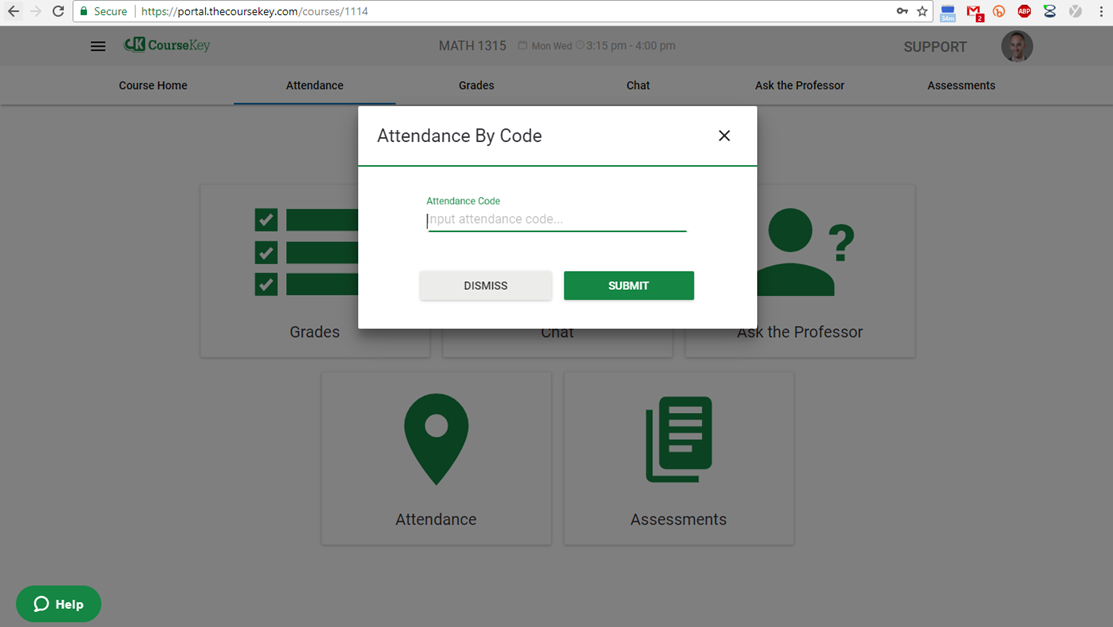 Student - QR Code Attendance (Mobile) – CourseKey Help Center